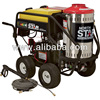 NorthStar Gas Powered Wet Steam & Hot Water Pressure Washer with Honda Engine - 3000 PSI, 4 GPM