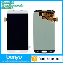 Replacement touch screen mobile phone spare parts for samsung galaxy s4 lcd screen