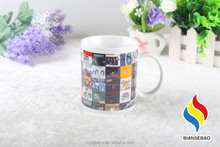 Wholesale Ceramic Photo Sublimation Mug Party Return Gifts
