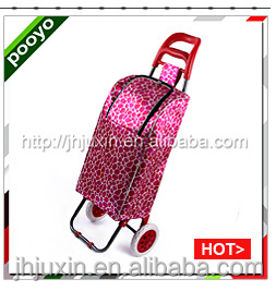 reusable shopping bags,supermarket shopping trolley carts for elder,JX-A2S-PU04