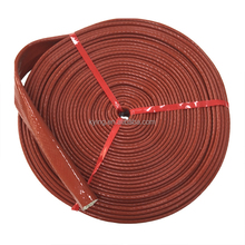 High Temperature Braided Fireproof Fiberglass Sleeve