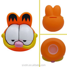 Top Quality plastic coin bank/cat coin bank/custom vinyl toy manufacturer