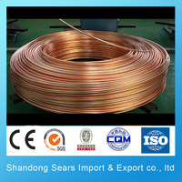 Chrome plated copper tube /large diameter brass pipe