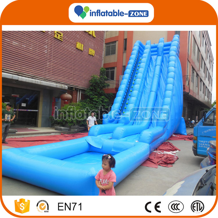 Best quality cheap commercial used jungle inflatable water slide playground inflatable slides for sale