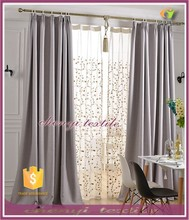 2015 new design for home window curtain with factory price hot sale