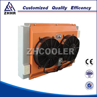 Hydraulic Oil Cooler With 24v Fan