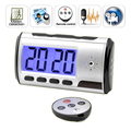 With Free Travel Adapter Motion Detection Digital Spy Camera Clock