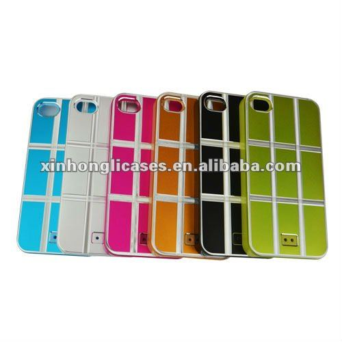 Cell phone Aluminum case for iPhone 4 4s