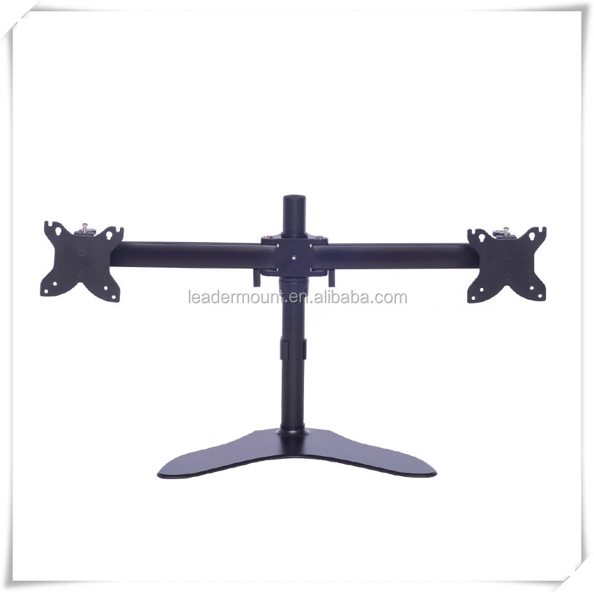 Standard Aluminum 2 arm monitor stand