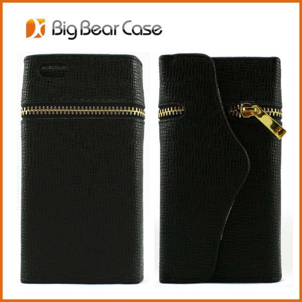 Unique design wallet case for iphone 5 bulk case for iphone 5