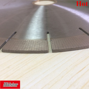 Hot sale granite diamond saw blade, China diamond segment cutting blade supplier