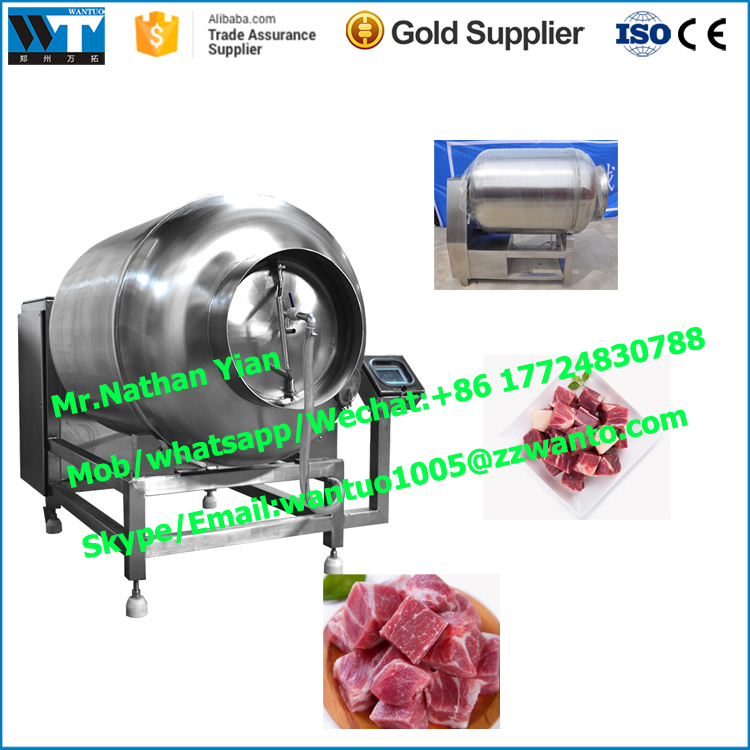 beef steak tumbler machine fish meat tumbling machine