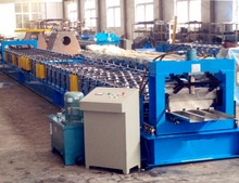 portable galvanized steel floor decking sheet making machine for sale