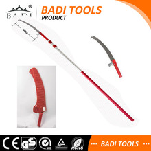 long handle aluminum handle telescopic pole tree pruning saw with sheath