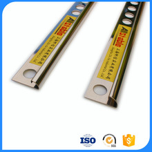 Right angle metal tile trim corners,L shaped 90 degrees angle stainless steel molding for wood floor