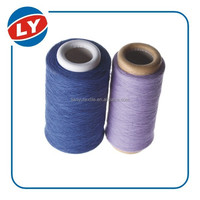 Color cotton yarn for socks from recycled cotton no need dye