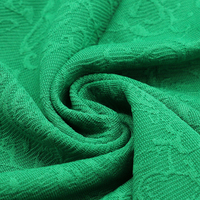 China best selling100% polyester knitting jacquard fabric for garments