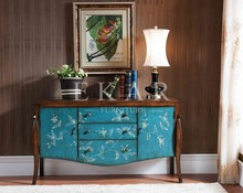 Vintage furniture industrial wooden furniture designs antiquing painted cabinets in blue