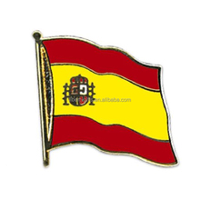 Espana Spain flag lapel pin badge