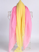 Polyester spun sheer voile white voile fabric for headcover, scarf