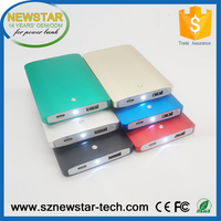 Best selling portable high quality 4000mah metal power bank