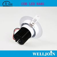 TOP SELLING!! Professional Adjustable 7W LED COB 3w led cabinet downlight