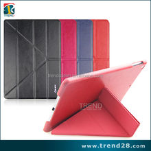 mobile accessories folding leather smart covers for ipad air