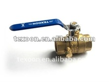 NPT ball valves fully forged threaded full port brass drain valve