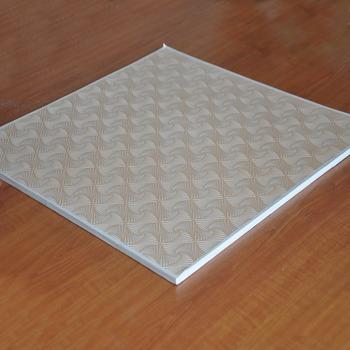 Heat Insulation 60*60 PVC Laminated Gypsum Ceiling Tiles