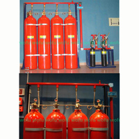 IG-541 automatic fire extinguishing system,mixture gas automatic fire extinguishing system
