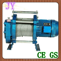 electric mini wire rope winch, wire rope hoist and trolley