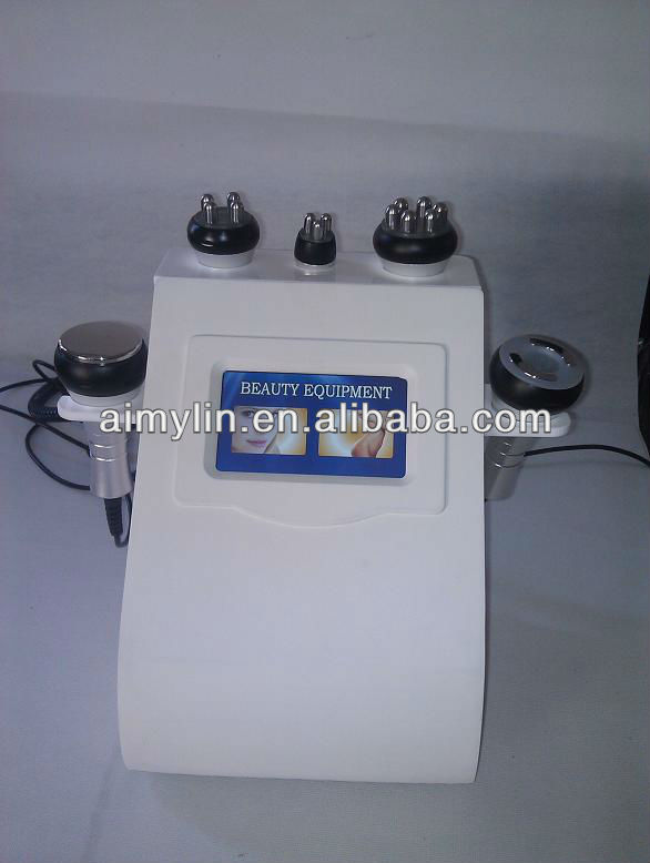 Multipolar rf ultra sound cavitation slim