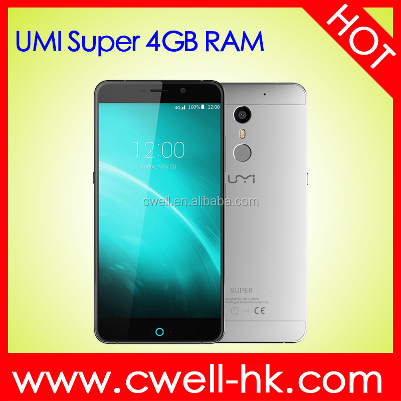 UMI Super 5.5 Inch Touch Screen Android 4G LTE Octa Core 32GB ROM 4000mAh Big Battery smartphone