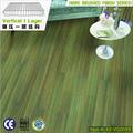 15mm Emerald Green Color Matt Finish vertical wire brushed bamboo floor products hot sale 2013