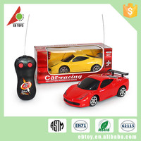 Fashion design outdoor toy high speed 1:24 ABS kids remote control car