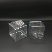 Promotion custom products clear plastic cupcake boxes