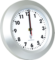 12 inches Plastic Radio Controlled Wall Clock time clock