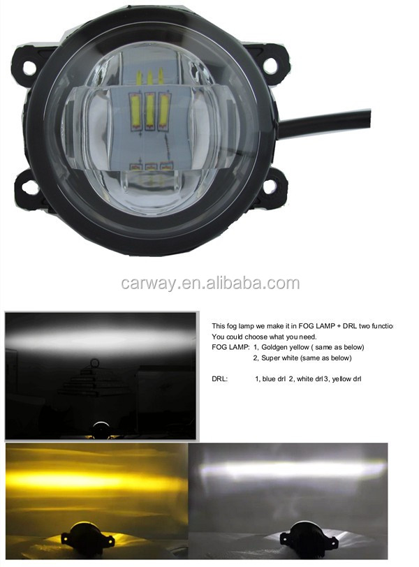 Auto accessories led fog lamp/car driving light drl led daytime