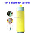 Multi-functional Wireless Speaker, Selfie Stick Power Bank Phone Holder Bluetooth Speaker with Hook