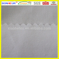 white poly cotton twill fabric for chef overalls
