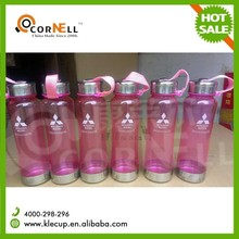 KLE-SLH020 eco-friendly bpa free plastic +S/Scap sports water bottle,SGS,CE,FDA certificates manufacturer