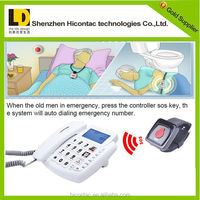 Home telephone, telephone watch, basic function telephone in corded telephones for elderly