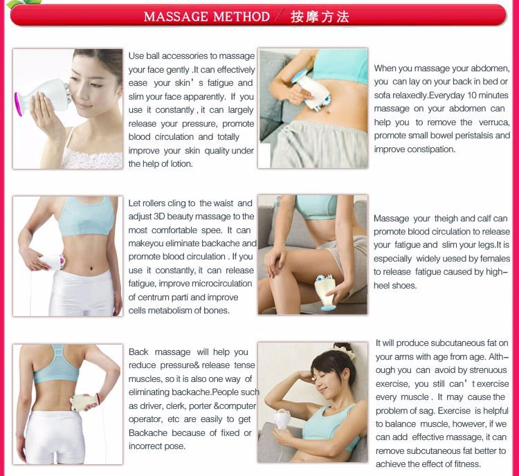 Kakusan 2016 factory price fashionable slimming massager electric vabration fat burning massager