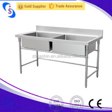 China Kitchen accessories double bowl stainless steel kitchen sink