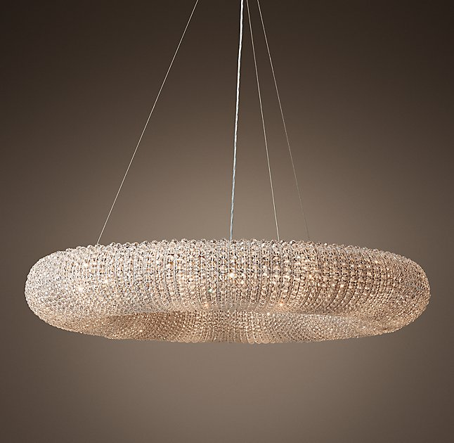 morden crystal chandelier lamp interior lighting
