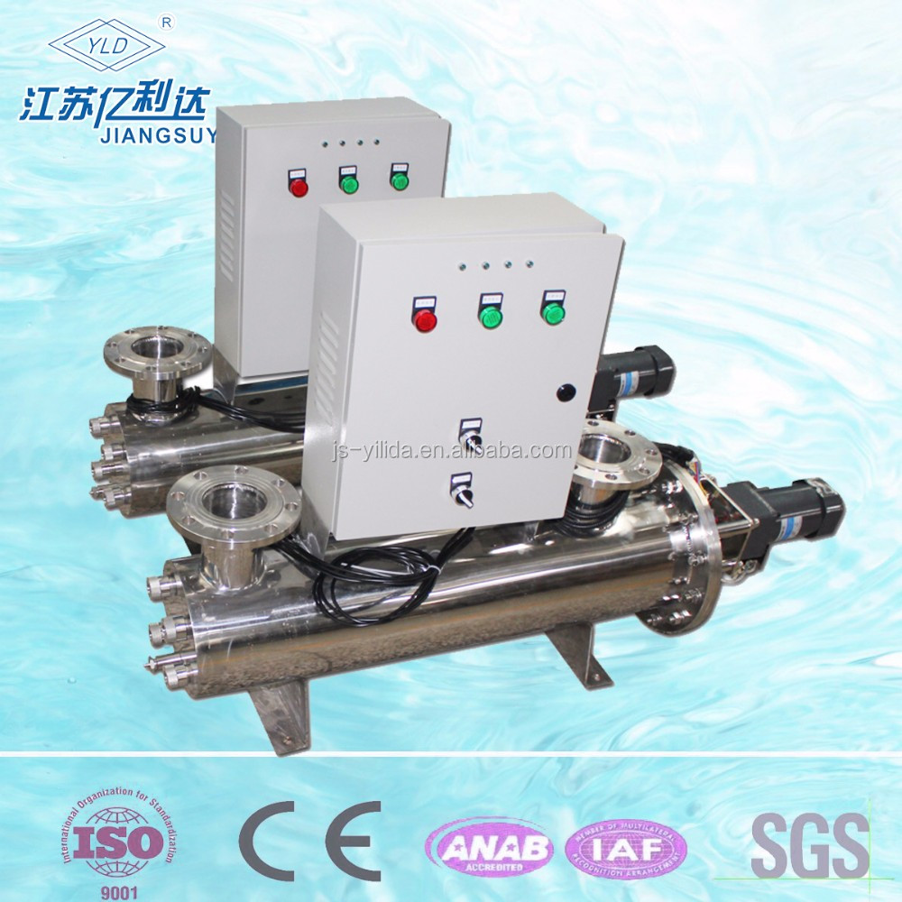 Inline Chamber UV water sterilizer / Swimming Pool UV sterilization machine