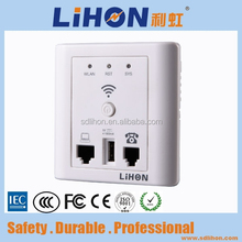 High Speed 150Mbps In Wall Wireless Router for Hotel Rooms, Hotel Wifi AP,Embedded Metope Wireless Router