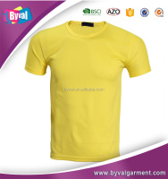Personalized customized T shirts for promotion/advtising/team working/campus wear
