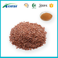 Linseed Extract powder Flax seed Lignans (As SDG ) 20%