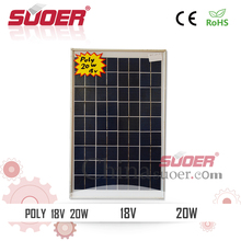 Poly Solar Panel 20W Sunpower Solar Panel 18V Polycrystalline Silicon Solar Cell